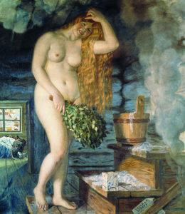 Кустодиев. Венера