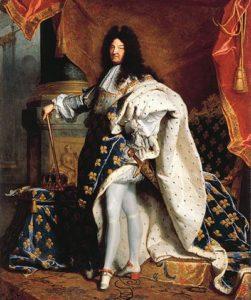 Людовик XIV со своими красными каблуками