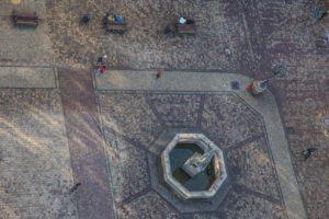 Вид из башни ратуши