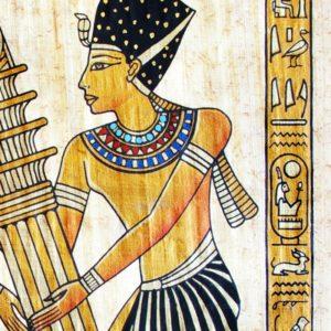 мужская мода в истории: воротник египтянина