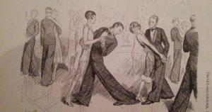 мужская мода в истории: танец в оксфордских мешках