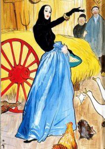 Рисунок Рене Грюо