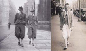 мужская мода в истории: брюки 20-хх годов 20-го века