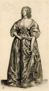 Фэшн-иллюстрация 17-го века