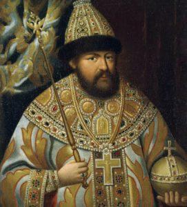мужская мода в истории: бармы на портрете царя Алексея Михайловича