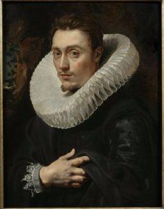 """мужская мода в истории: воротник """"голова на блюде"""""""