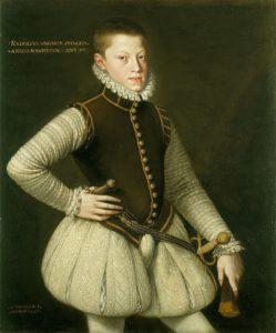 мужская мода в истории: Портрет императора Священной Римской империи