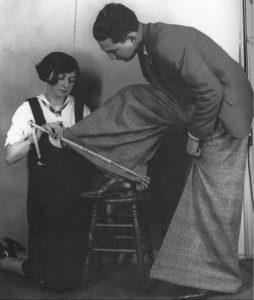 мужская мода в истории: брюки Оксфордские мешки