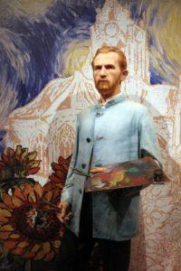 Музей мадам Тюссо. Ван Гог