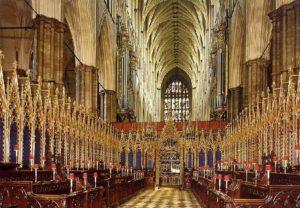 Вестминстерское аббатство внутри