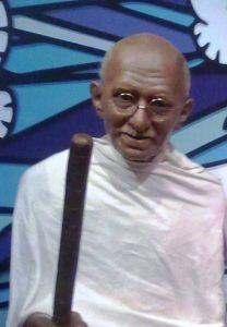 Музей мадам Тюссо. Махатма Ганди