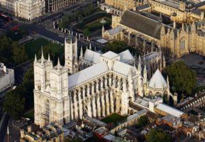 Вестминстерское аббатство с высоты