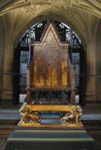 Трон Эдуарда I