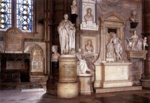 Уголок поэтов. Вестминстерское аббатство