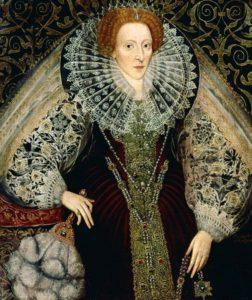 Портрет Елизаветы Тюдор