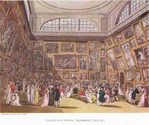 Сомерсет-хаус. Выставочный зал, 1808 г.