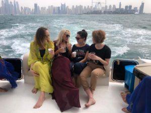 морская прогулка в Дубае