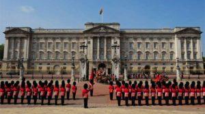 Букингемский дворец. Смена караула
