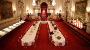 Букингемский дворец внутри