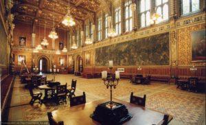 Вестминстерский дворец. Интерьер