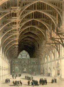 Вестминстерский холл, 1808 год