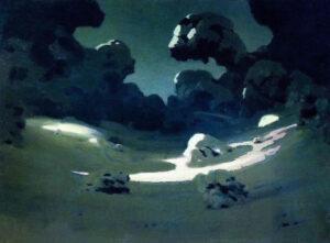 Архип Куинджи. зима