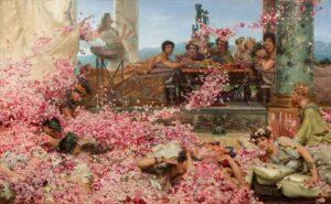 Розы Гелиогабала. 1888